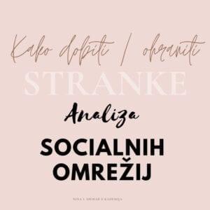 Analiza socialnih omrežij